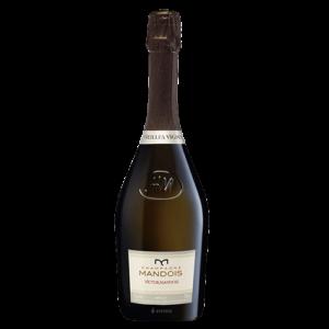 Bottle of Champagne Victor Mandois 2005