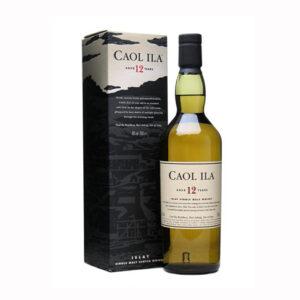 Caol Ila12yo with box